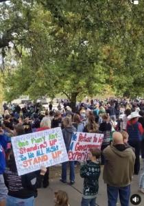 Freedom Rally Crowd
